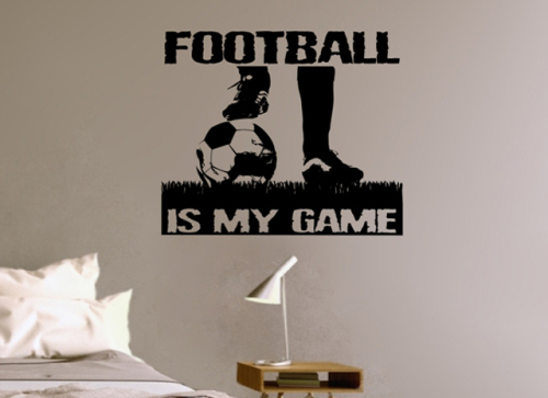 Football is my game image