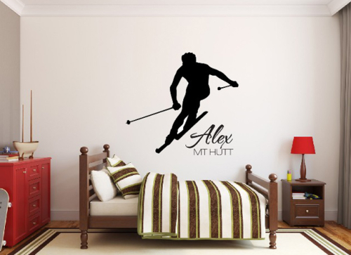 Ski Decal image