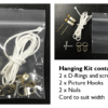 Canvass hanging kit